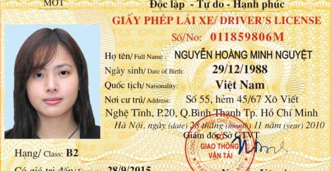 cách lấy bằng lái xe quốc tế