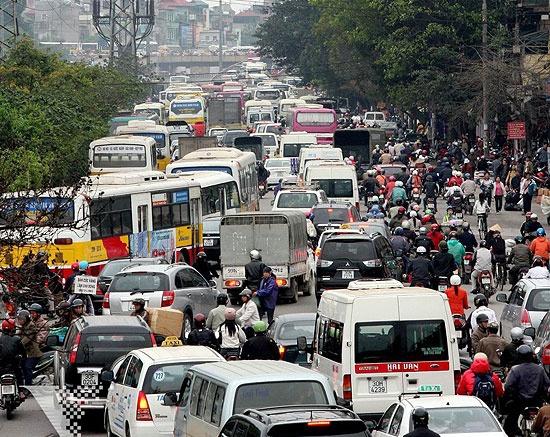 cách lái xe ô tô trong thành phố
