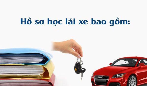 hồ sơ học lái xe ô tô